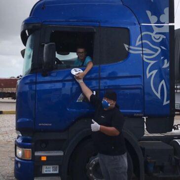 SETCESUL distribui 500 refeições para caminhoneiros entre hoje e domingo